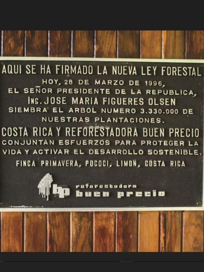 Ley Forestal Costa RIca